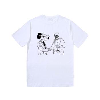 Tee Shirt popular Xanax White