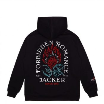 Sweat Capuche Jacker Forbidden Romance Black