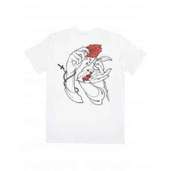 Tee Shirt Jacker Holy Roses White
