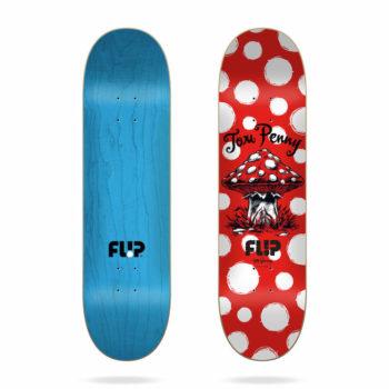 Planche Skate Flip Dots reboot Red 8.125